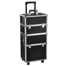 3 In 1 Portable Beauty Case Trolley Box Shining Appearance For Makeup Artists