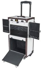 Multifunction Makeup Artist Trolley Case With Spill - Resistant Finish Interior