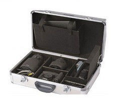 Aluminum Camera Hard Case With Adjustable & Removable Shoulder Strap